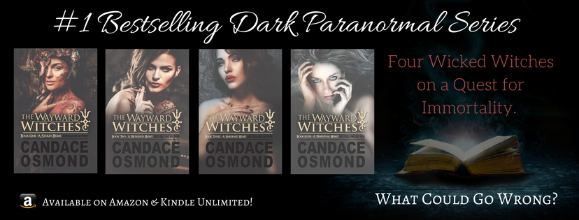 the wayward witches, witches, horror, erotic romance
