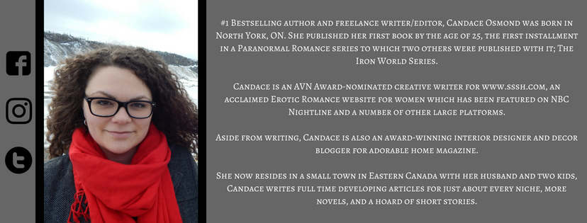 author candace osmond, candace osmond, writer, bio
