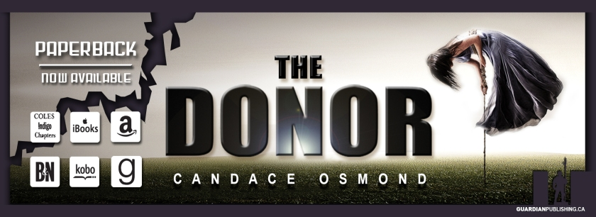the donor, scifi, romantic suspense